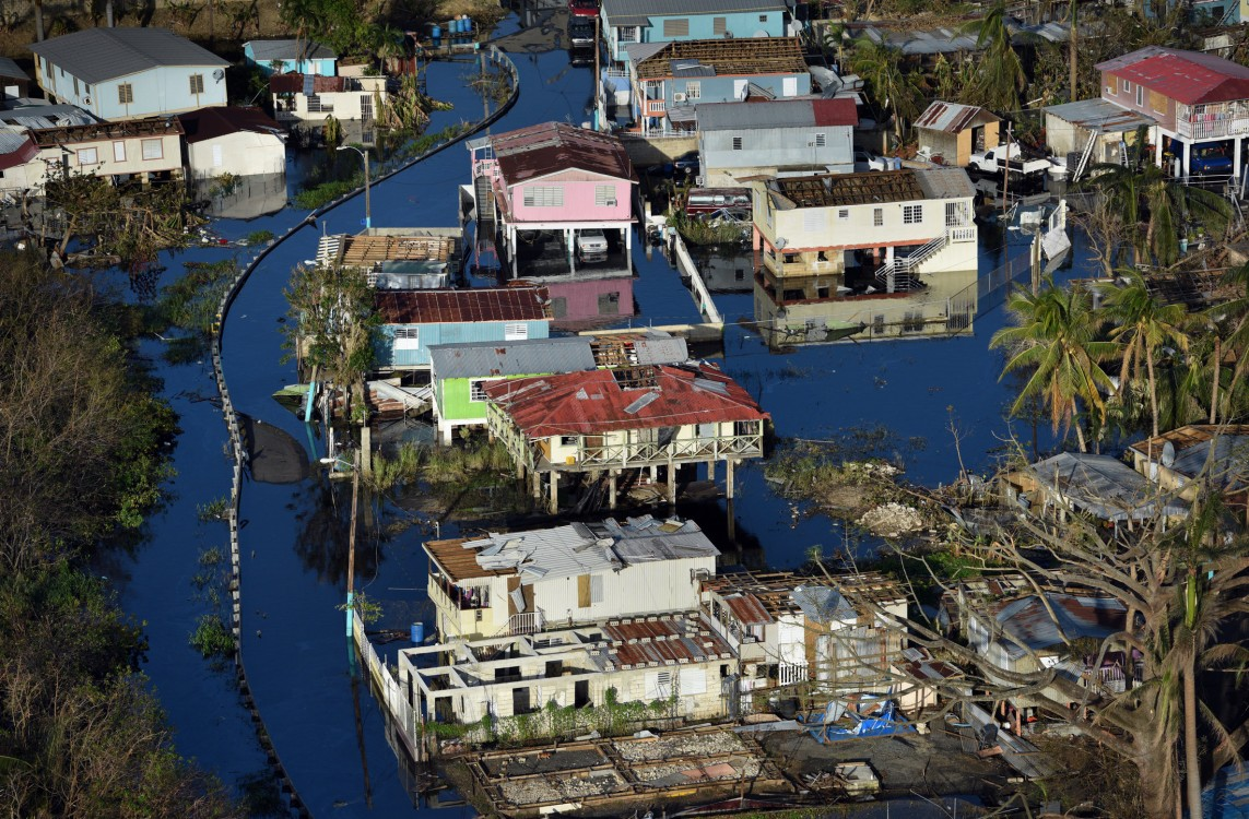 When Hurricane Maria devastated Puerto Rico in September 2017, the island lacked the financial resources to make a fast recovery on its own. Carol Guzy/ZUMA Press