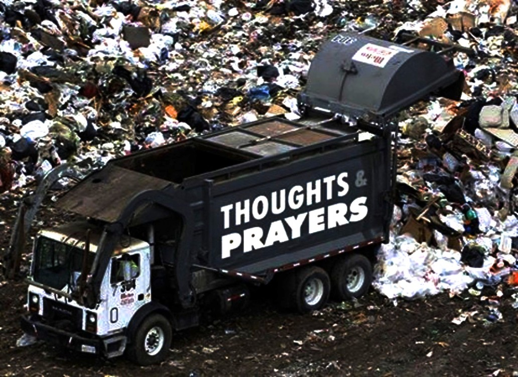 Thoughts and Prayers, gun violence, mass shootings, massacres, automatic weapons, right to bear arms, gun lobby, synagogue shootings, Tree of Life Synagogue