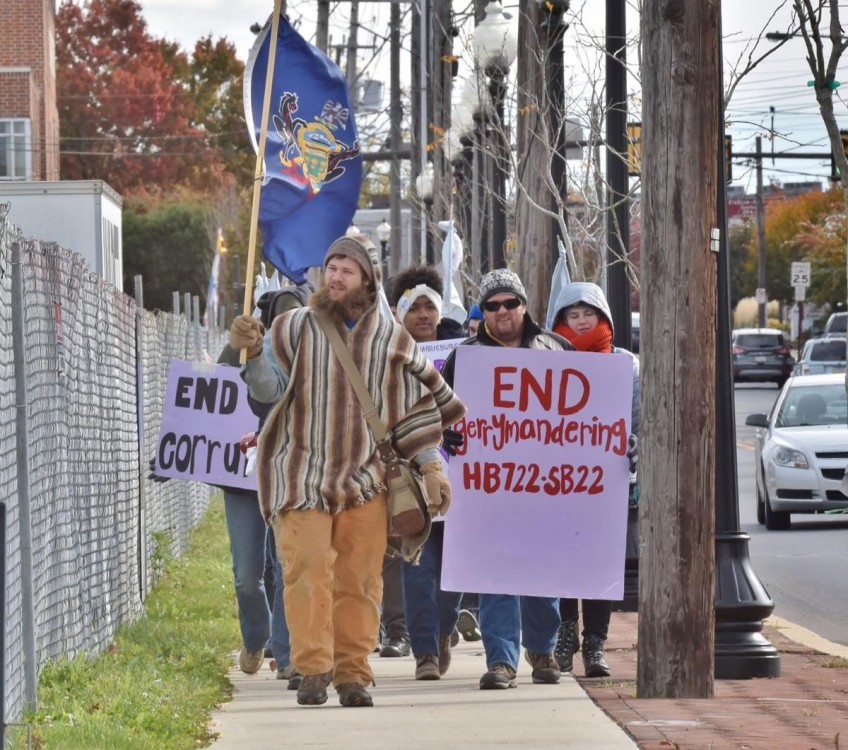 """With March on Harrisburg, the """"Blue Wave"""" Gathers Force in Pennsylvania"""
