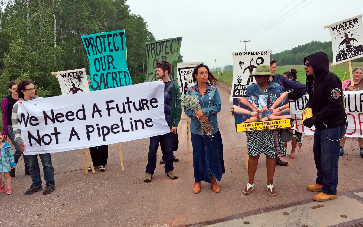 tar sands pipelines, tar sands protesters, Standing Rock, Enbridge Line 3, protester surveillance, environmental activism, climate activists