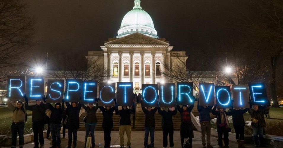Wisconsin power grab, Alien and Sedition Acts, Scott Walker, Tony Evers