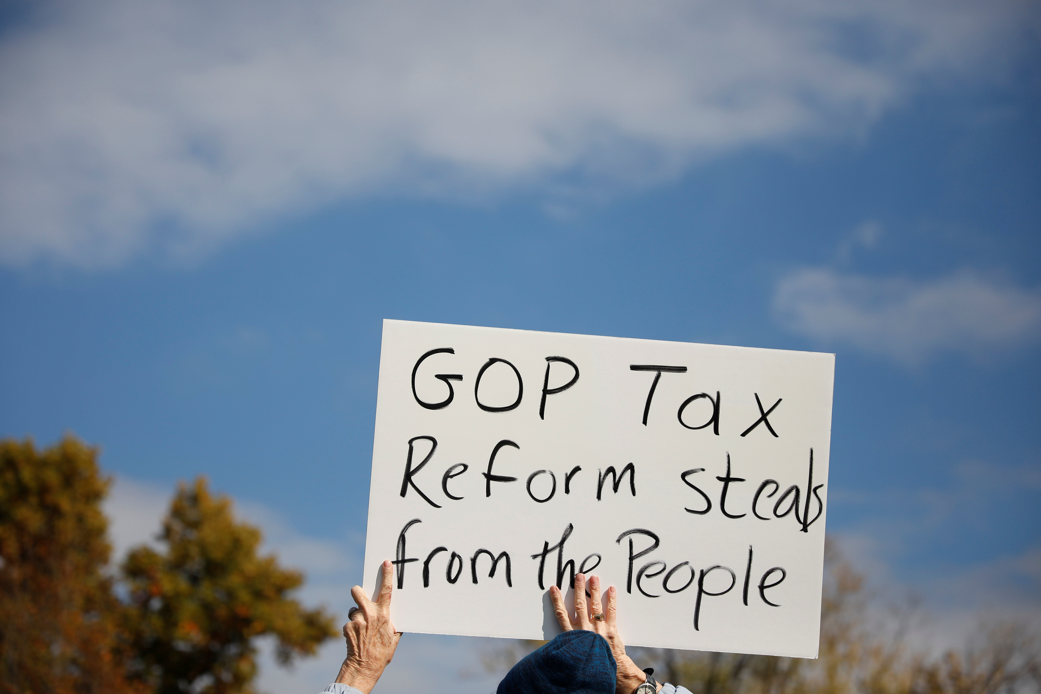 Tax Cuts and Jobs Act, tax cuts for the rich, corporate tax cuts
