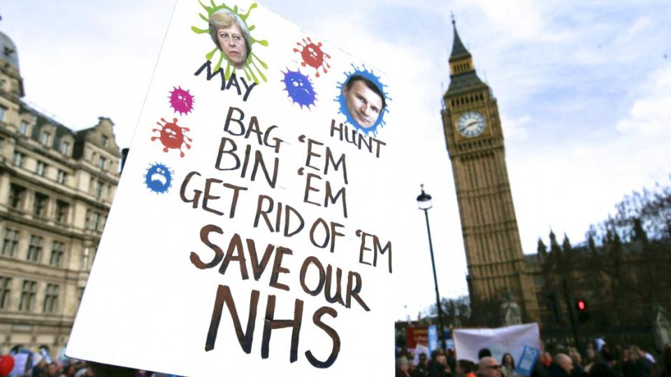 National Health Service, NHS, NHS cuts, Brexit, Brexiteers, no-deal Brexit