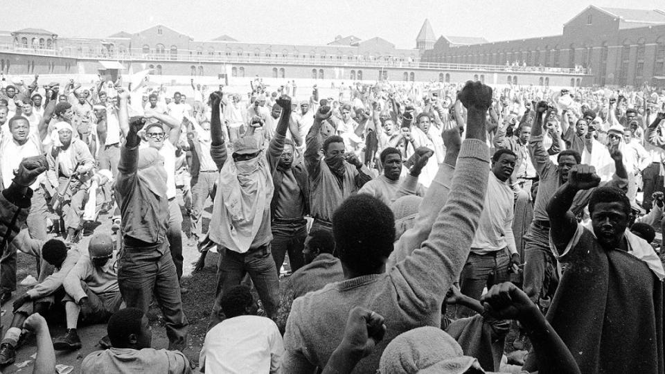 prison strike, prisoner abuse, prisoner uprising, Attica Uprising, Blood in The Water, Heather Ann Thompson, incarceration rates