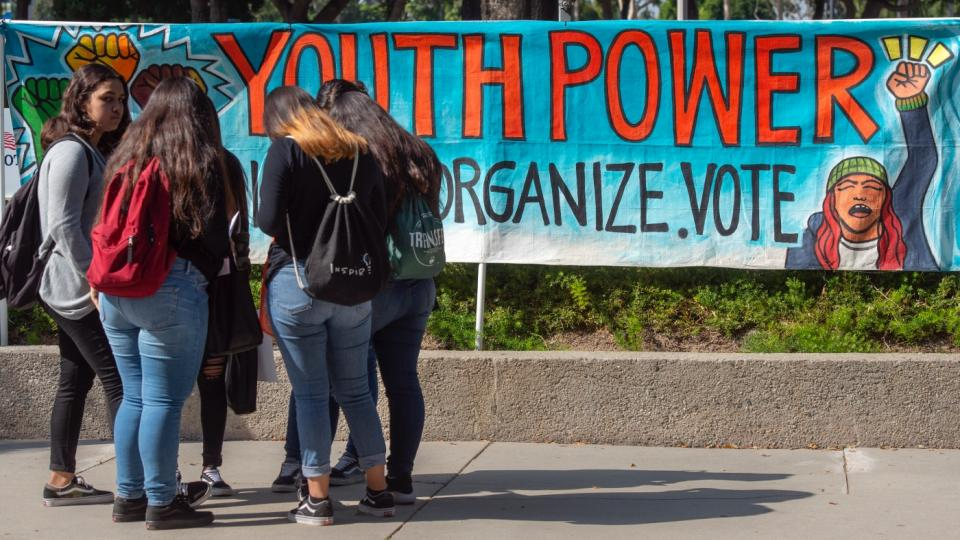 young voters, lower voter age, voter access