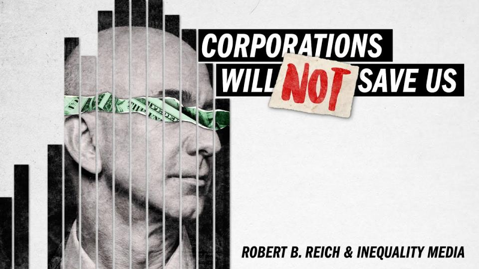 Corporations Will Not Save Us from the Coronavirus with Robert Reich