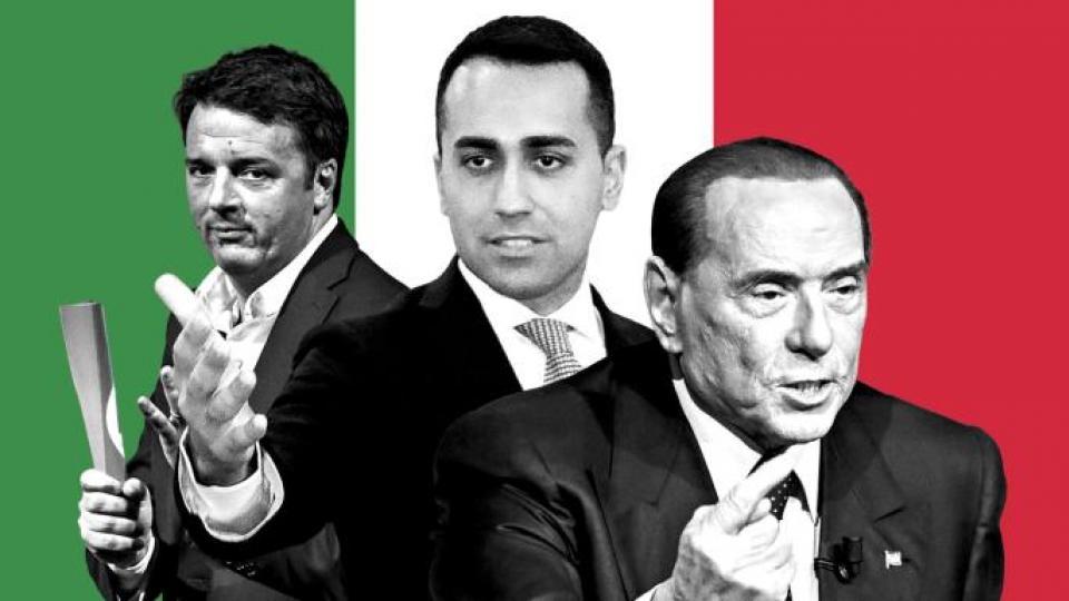Italian elections, Italian far right, Five Star Movement, Lega Nord, Fratelli d'Italia, neo-fascism, right extremists, anti-immingrant sentiment