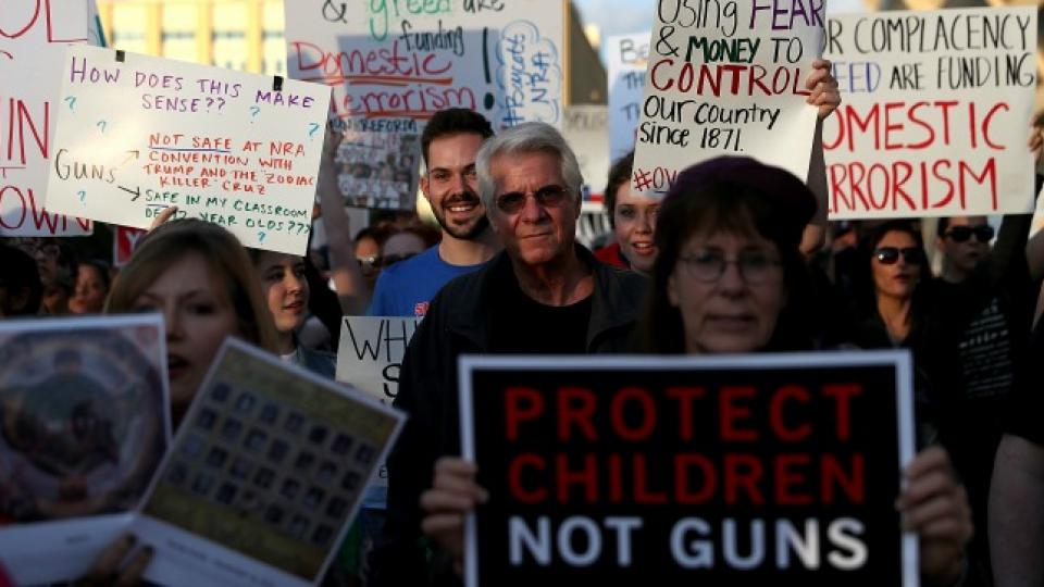 NRA convention, NRA protests, March for Our Lives, Rally 4 Reform, National Rifle Association