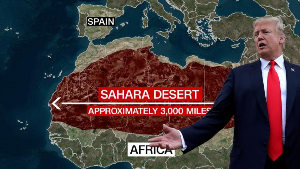 border walls, Trump, Mexico-U.S. wall, Sahara wall, Spain migration, E.U. migration