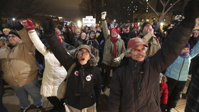 Scott Walker, Wisconsin GOP, Wisconsin protests
