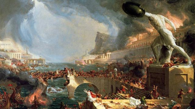 Roman empire, American decline, rising inequality, income inequality, corruption, Rome decadence,