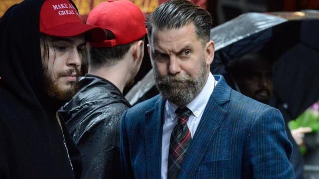 Gavin McInnes, right, the founder of the Proud Boys.CreditCreditStephanie Keith/Getty Images