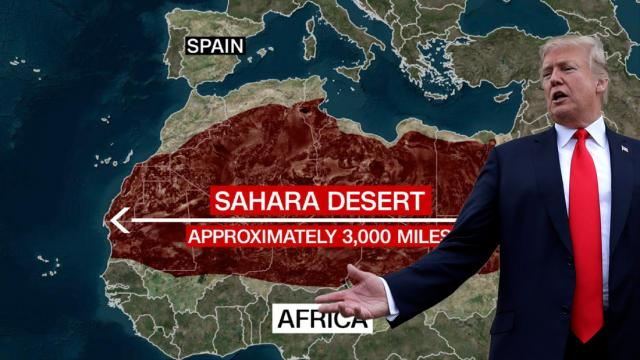 border walls, Trump, Mexico-U.S. wall, Sahara wall, Spain migration, E.U. migration